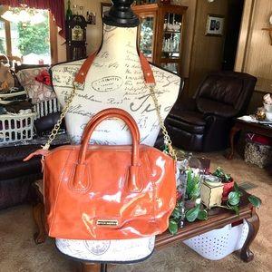 Beautiful Steve Madden pumpkin spice colored purse